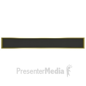 ID# 4018 - Digital Board Sign Display - Presentation Clipart