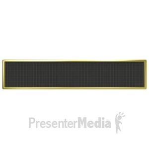 ID# 4020 - Blank Digital Panel - Presentation Clipart