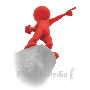 ID# 4134 - Figure Point Cliff - Presentation Clipart