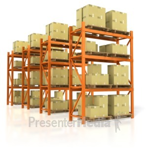 ID# 4152 - Warehouse Product - Presentation Clipart
