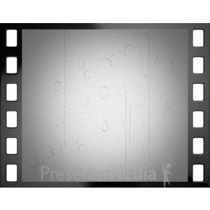 ID# 4284 - Old Film Frame - Presentation Clipart