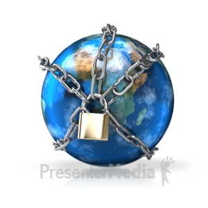 ID# 4366 - Earth Chained - Presentation Clipart