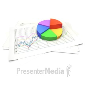 ID# 4477 - Circular Pie Chart Data Sheet - Presentation Clipart