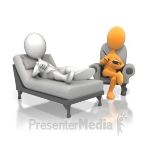 ID# 5143 - Therapy Session - Presentation Clipart
