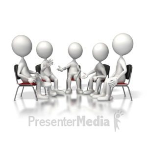ID# 5156 - Group Session - Presentation Clipart