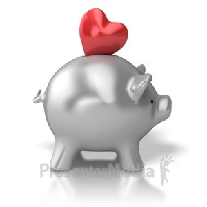ID# 5597 - Compassion Bank - Presentation Clipart