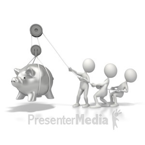 ID# 5617 - Lift Savings - Presentation Clipart