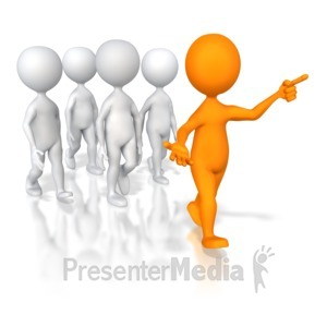 ID# 5629 - Group Leader - Presentation Clipart