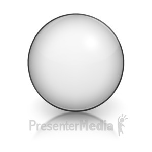 ID# 5803 - Harvey Ball Numberic Ten Representation - Presentation Clipart