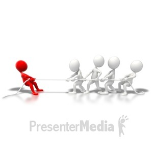 ID# 5924 - Holding Your Ground - Presentation Clipart