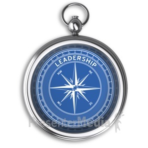 ID# 6242 - Compass Leadership No Dial - Presentation Clipart