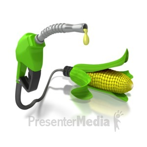 ID# 6416 - Ethanol Alternative Bio Fuel Pump - Presentation Clipart
