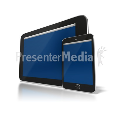 Wireless Devices PowerPoint Clip Art