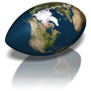 ID# 6597 - World of Football - Presentation Clipart