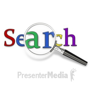 ID# 6612 - Search It Closely - Presentation Clipart
