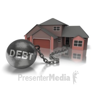 ID# 6892 - Ball N Chain House - Presentation Clipart