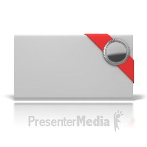 ID# 6992 - Awards Envelope - Presentation Clipart
