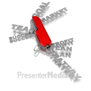 ID# 7137 - Business Word Tool - Presentation Clipart