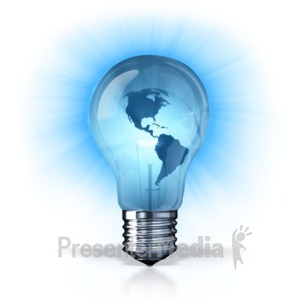 ID# 7402 - World Energy - Presentation Clipart