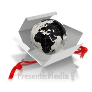 ID# 7466 - World Inside - The East - Presentation Clipart