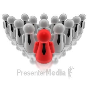 ID# 7755 - Group Leader - Presentation Clipart