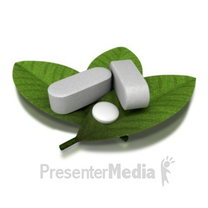 ID# 8492 - Herbal Supplement - Presentation Clipart