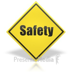 ID# 8530 - Safety Sign - Presentation Clipart