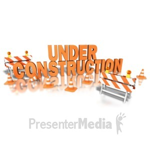 ID# 8553 - Construction Site - Presentation Clipart