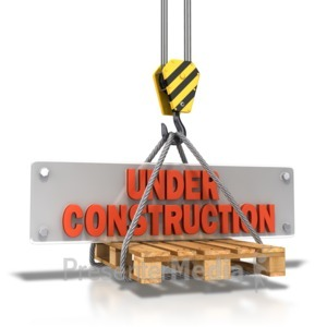 ID# 8562 - Hook Carrying Construction Plate - Presentation Clipart