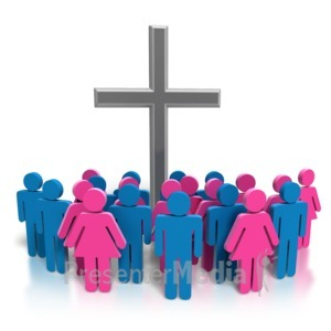 ID# 8912 - The Church Body - Presentation Clipart