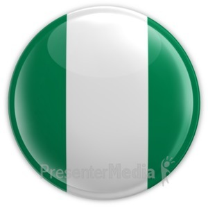 ID# 8976 - Badge of Nigeria - Presentation Clipart