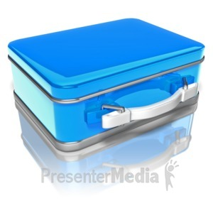 ID# 8996 - Lunch Box - Presentation Clipart