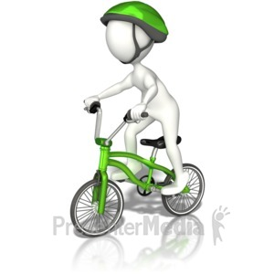 ID# 9046 - Bike Safety - Presentation Clipart