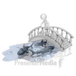 ID# 9547 - Bridge Over Troubled Water - Presentation Clipart