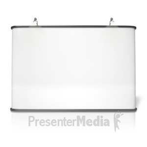 ID# 9630 - Advertising Booth Design Four - Presentation Clipart