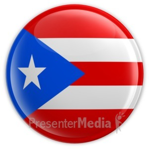 puerto rico flag perspective anim