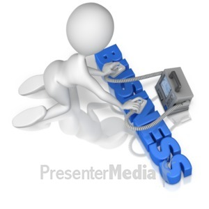 ID# 9882 - Reviving Business - Presentation Clipart