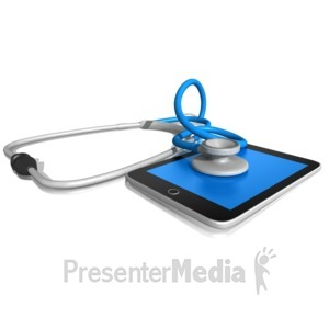 ID# 9917 - Electronic Medical Record - Presentation Clipart