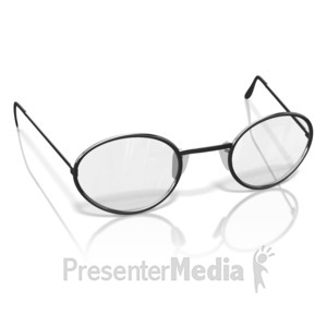 ID# 10255 - Single Glasses - Presentation Clipart