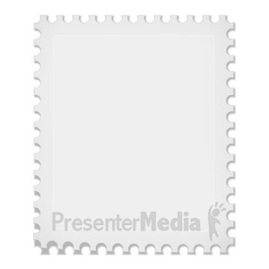ID# 10431 - Rectangle Stamp - Presentation Clipart