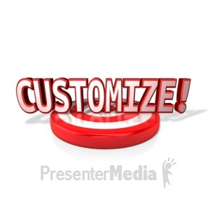 ID# 11302 - Target Text - Presentation Clipart