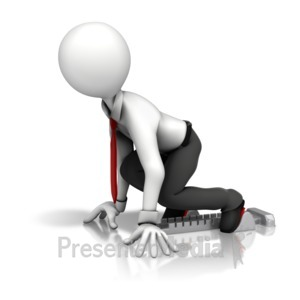 ID# 11347 - Business Starting Block - Presentation Clipart