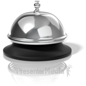 ID# 11520 - Call Bell - Presentation Clipart