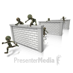 ID# 11583 - Boot Camp Soldiers - Presentation Clipart
