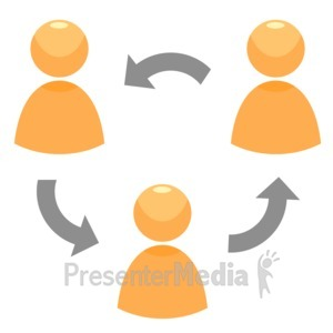 ID# 12312 - Circle Of People - Presentation Clipart