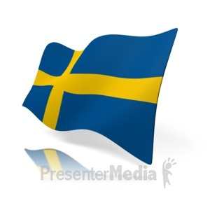 ID# 12857 - Sweden - Presentation Clipart