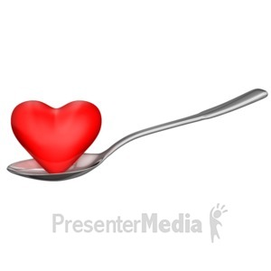 ID# 13050 - Heart Healthy Eating - Presentation Clipart