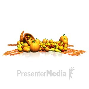 ID# 13399 - Bountiful Harvest - Presentation Clipart