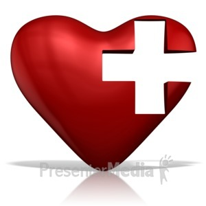 ID# 13544 - Medical Heart - Presentation Clipart