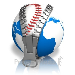 ID# 13637 - Earth Baseball Reveal - Presentation Clipart